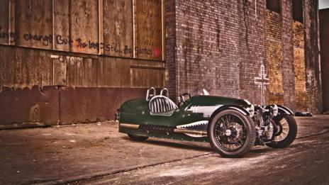 The modern Morgan 3 Wheeler