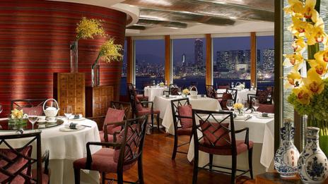 Lung King Heen at the Four Seasons in Hong Kong boasts spectacular views. (Four Seasons)