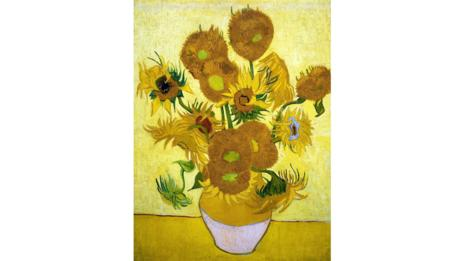 Sunflowers by Van Gogh (World History Archive / Alamy)
