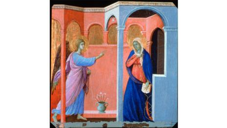 The Annunciation by Duccio di Buoninsegna (The Print Collector / Alamy)