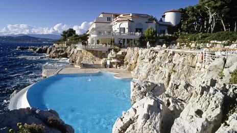 Hotel du Cap Eden Roc, Antibes, Cote d'Azur (Rex Features)