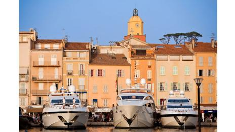 The marina at St Tropez (Gardel Bertrand/Hemis/Corbis)