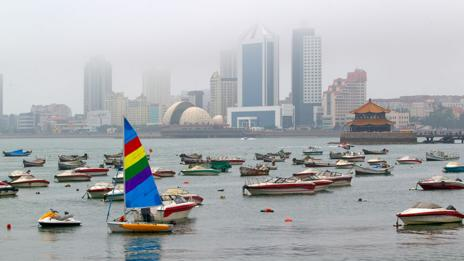 The coastal city of Qingdao in China (Thinkstock)