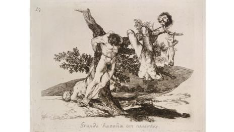 One of Goya's more famous prints (Goya: Plate 39 / The Folio Society)