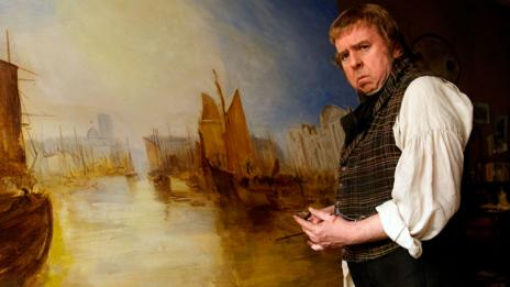 Timothy Spall portrays British landscape painter JMW Turner (Sony Pictures Classics)