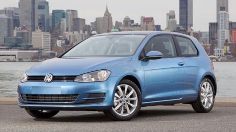 2015 Volkswagen Golf. (Volkswagen of America)