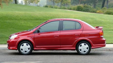 2004 Toyota Echo. (Toyota Motor Sales)