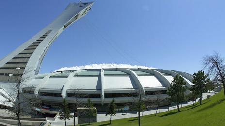 The Montreal Olympic Stadium, built for the 1976 Summer Games (Getty Images)