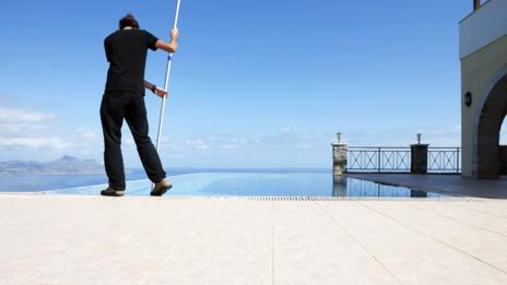 Some pool cleaners earn more than $120,000 per year. (Paolo Toffanin/Thinkstock)