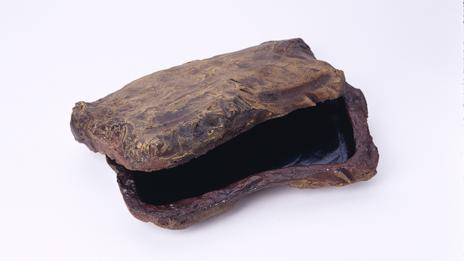 Fake rocks are still used to pass on sensitive information (International Spy Museum)