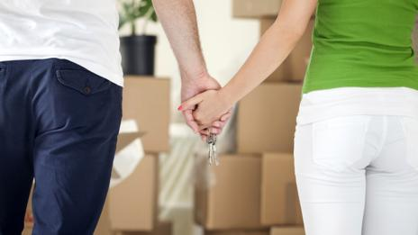 Thinking of moving in together? (Thinkstock)