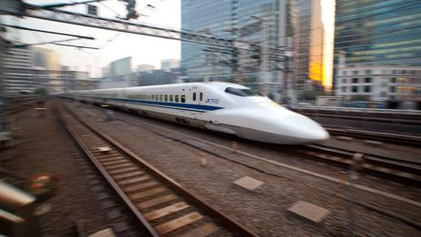 Bullet train (Getty Images)