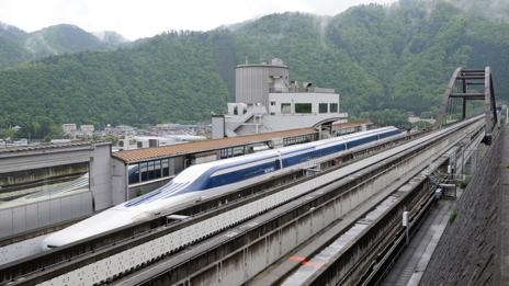 The speedy Maglev (AFP/Getty Images)