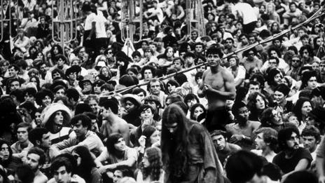 Woodstock crowd (Hulton Archive/Getty Images)