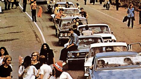 Woodstock traffic jam (United Archives GmbH/Alamy)