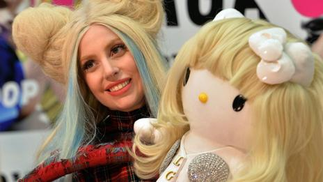 Pop star Lady Gaga (Yoshikazu Tsuno/AFP/Getty Images)