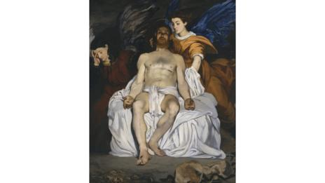 The Dead Christ With Angels by Manet (Metropolitan Museum of Art, New York)