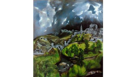 View of Toledo by El Greco (Metropolitan Museum of Art, New York)