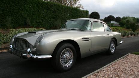 Gray: Aston Martin DB5