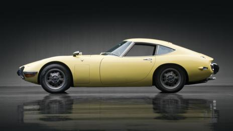 Yellow: Toyota 2000GT