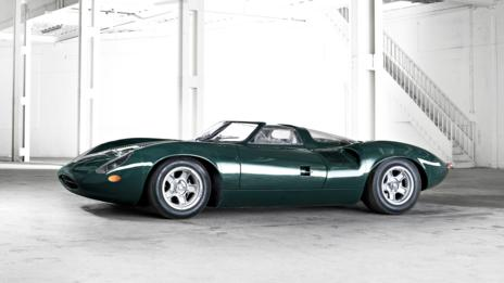 Green: 1966 Jaguar XJ13