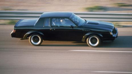 Black: 1987 Buick GNX
