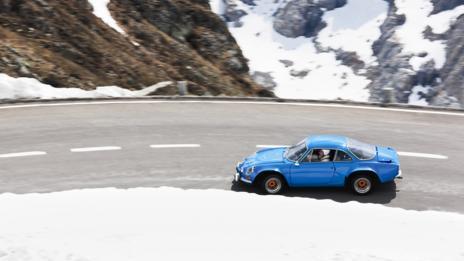 Blue: Renault Alpine A110
