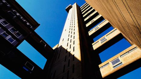 The imposing Trellick Tower in Ladbroke Grove - built in 1972 (Getty)