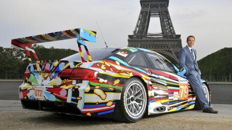 Others: BMW M3 GT2 by Jeff Koons