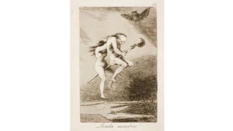 Los Caprichos – Plate 68 (Goya)