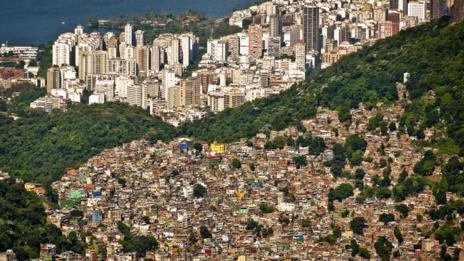 Favelas may be close to well-known cities, but they are not well-mapped (Thinkstock)