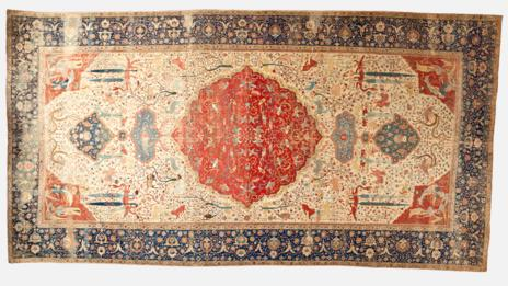 The Coronation Carpet, 1520-30 (Los Angeles Country Museum of Art)