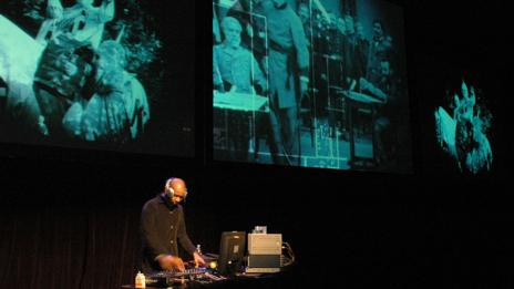Experimental hip hop artist DJ Spooky recut Griffith's film as Rebirth of a Nation
