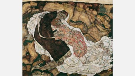 Egon Schiele, 1915. Death and the Maiden