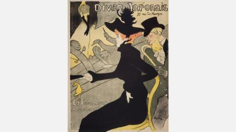Toulouse-Lautrec embraced both Japanese art and printmaking