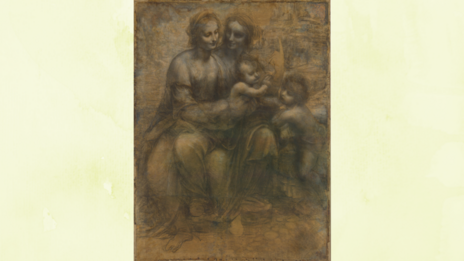 The Virgin and Child with St Anne and St John the Baptist by Leonardo da Vinci