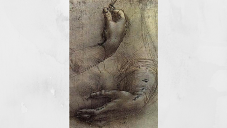 (Credit: Study of Arms and Hands/Leonardo da Vinci/Wikipedia)