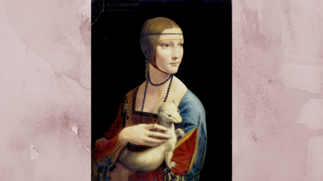 (Credit: Lady with an Ermine/Leonardo da Vinci/Wikipedia)