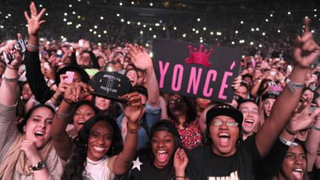 Beyoncé's legions of fans are known as the Beyhive