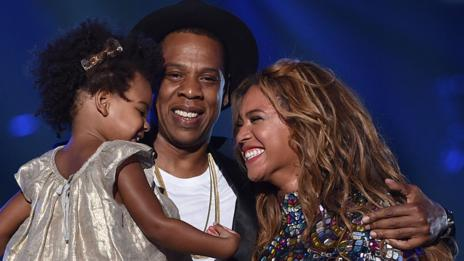 Beyoncé frequently mentions the importance of her roles as wife (to Jay-Z) and mother