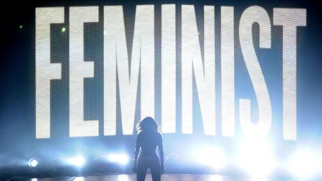 Beyoncé imbues her songs and performances with powerful feminist themes