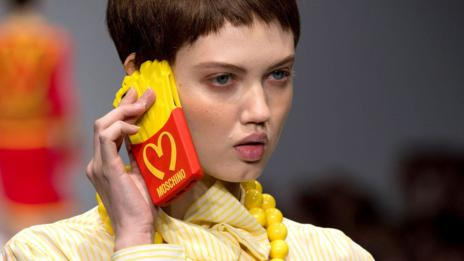 Like Warhol, Jeremy Scott has celebrated symbols of consumer culture
