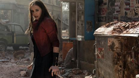 Elizabeth Olsen's Scarlet Witch character in Avengers: Age of Ultron