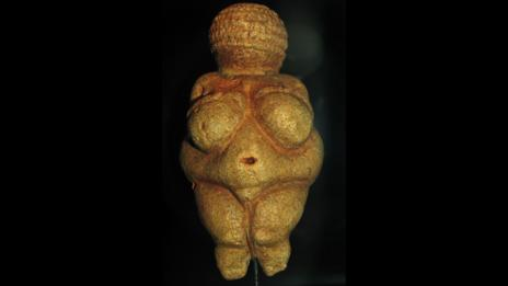 The ancient Venus of Willendorf