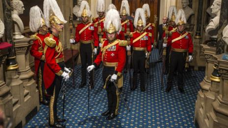 Even the Brits have forgotten protocol for some traditional ceremonies. (Getty Images)