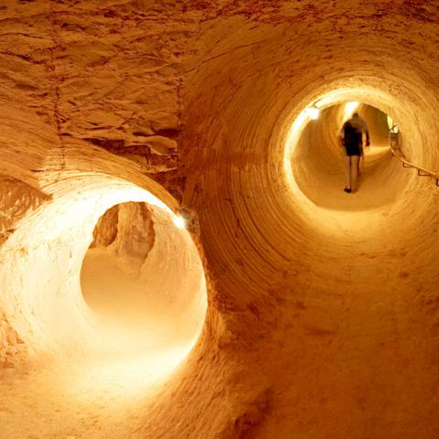 Under the opal capital of the world, Coober Pedy, Australia, underground, The Travel Show (Credit: Credit: Hemis/Alamy)