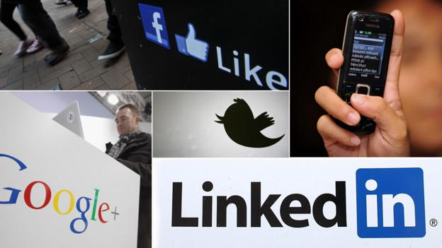 Social networks montage (Copyright: Getty Images)