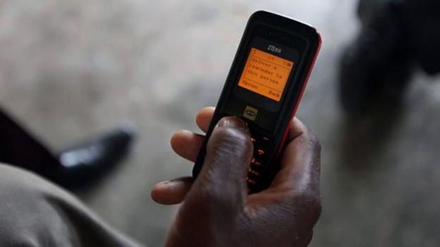 Drug adherance text message (Image courtesy of Unicef)