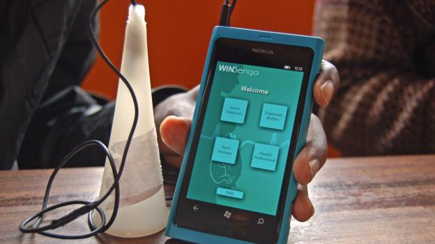WinSenga: A mobile ear for problems in pregnancy