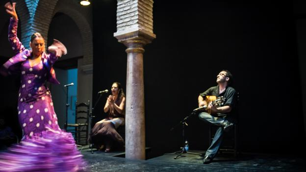 Seville flamenco Spain (Credit: Chris van Hove)